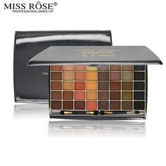Miss Rose Brand 48Colors 3D Eyeshadow Pallete Professional Pro Warm Makeup Pallete face Matte Naked Eyeshadow Palette