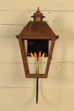 The Magnolia Lantern — Gas or Electric   The Carolina Collection Lanterns   Carolina Lanterns