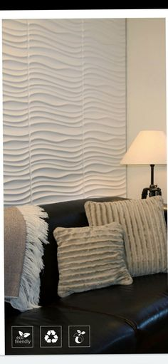 Decorate your home with your eco friendly wall art panels 3d Wall Panels, Panel Wall Art, 3d Wall Art, Cornice, Ceiling Design, Textured Walls, Home Renovation, Decorating Your Home, Beautiful Homes