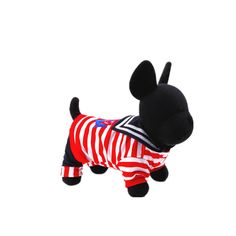 Dofull Handsome Navy Striped Legs Clothes Teddy Bichon Clothing(WW11) *** Additional details at the pin image, click it  : Dog Cold Weather Coats