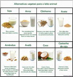 Existem diversas alternativas naturais para o leite de origem animal. Dos leites alternativos, o mais conhecido é o leite de soja ....