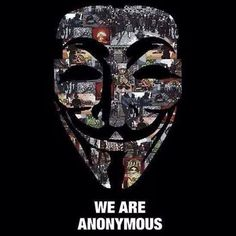 PARTAGE OF ANONYMOUS ART OF RÉVOLUTION..........ON FACEBOOK...........