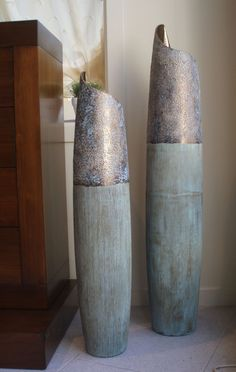 1000 images about jarrones decorativos on pinterest vases ceramica and pottery - Decorar jarrones altos ...