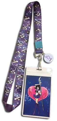 Sailor Moon S Lanyard - Sailor Saturn Crest @Archonia_US