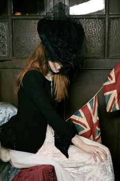 Lily Cole photographed by Mary McCartney, c. 2008.