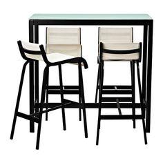 AMMERÖ Masă Pentru Bar și 4 Scaune IKEA