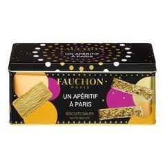 Biscuits aperitifs Fauchon : feuilletes au gouda et aux herbes de provence