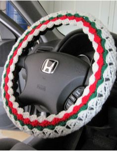 Victoria's Crafts by ytang Home Crafts, Diy Crafts, Car Steering Wheel Cover, Craftsman Style Homes, Crafts To Make And Sell, Crochet Crafts, Diy Craft Projects, Hobbies And Crafts, Car Accessories