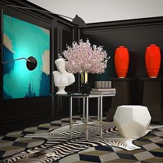 Antonino Buzzetta vignette for Rooms with a View 2014 designer showhouse