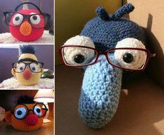 Crochet Glasses Holder Free Patterns