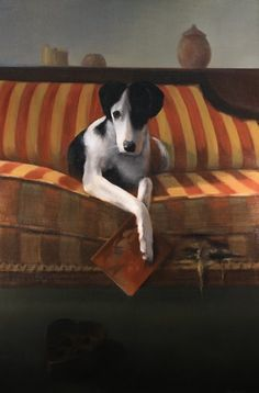 """""""My Secret Valentine"""" (oil, 36×24) by JoEllen Reinhardt  Read Christopher Reinhardt's 12 tips for getting an art grant in this article from ArtistsNetwork. ~ch"""