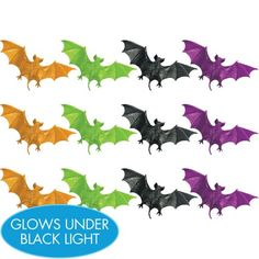 Neon Bats 12ct