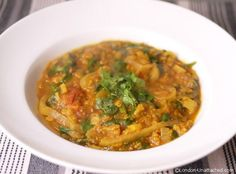 Red Lentil Dahl for 5-2 diet