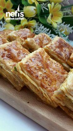 Tel Tel Dökülen Muhteşem Peta Böreği Peta, Nutella, Snacks, Food Art, French Toast, Bacon, Food And Drink, Breakfast, Amazing