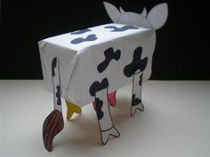 La vache 3D