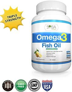 Omega 3 Lemon Flavored Fish Oil Supplements Triple Strength http://www.amazon.com/Omega-Flavored-Supplements-Triple-Strength/dp/B00RVWS66A
