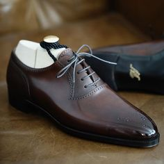 New Stylish Handmade Men& Brown Color Leather Shoes, Men& Oxford Lace Up Brogue Shoes is part of Formal shoes for men New Stylish Handmade Men& Brown Color Leather Shoes, Men& Oxford Lace Up Bro - Black Leather Slip Ons, Leather Shoes, Soft Leather, Napa Leather, Italian Leather, Suede Leather, Black Suede, Gents Shoes, Zapatillas Casual