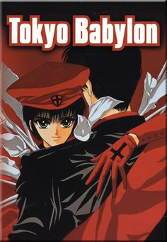 Tokyo Babylon. While the manga by CLAMP is much better, the short anime is visually interesting, though it makes poor Subaru look like some sort of Michael Jackson impersonator.