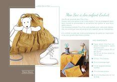 pas a pas sac a dos enfant enduit 2 Blog Couture, Frou Frou, Teddy Bear, Paper Pieced Patterns, Teddy Bears