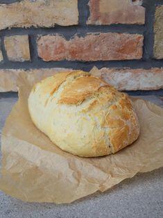 Gyors házi kenyér - Tejturmix Bread, Food, Brot, Essen, Baking, Meals, Breads, Buns, Yemek