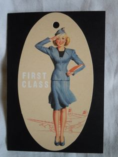 Flight Attendant Passport Cover