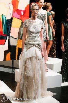 Aurelio Costarella Frocks, Runway, Spring Summer, Formal Dresses, Fabric, Color, Fashion, Cat Walk, Dresses For Formal
