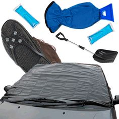 Remove the worry and be prepared for it all with New & Unique #Caraselle Car Winter Survival Kit..