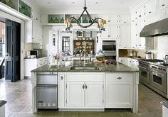 Jackie Lanham huge country kitchen by The Estate of Things, via Flickr