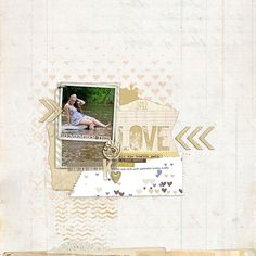 awesome details here + i love that title on this page by katie pertiet at designer digitals