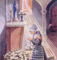 Feast of St. Catherine Labouré: new presentation- the Solitude of St. Catherine #famvin #miraculousmedal