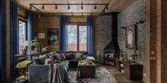 Дом из бруса, 360 м² Curtains, Interior, Home Decor, Blinds, Decoration Home, Room Decor, Design Interiors, Interiors, Draping