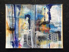 """choosing""  journal spread // by bun // artist: roxanne coble"