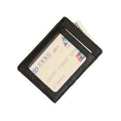 fd81d521f1 High quality genuine cow leather credit card holder brand ID card holder  fashion leather card case