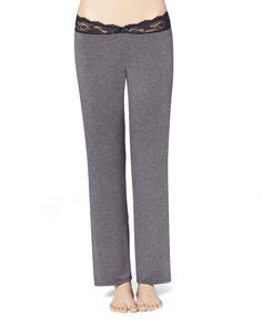 Lace Waist Pant - oh these look soooo comfy!!! and cute!