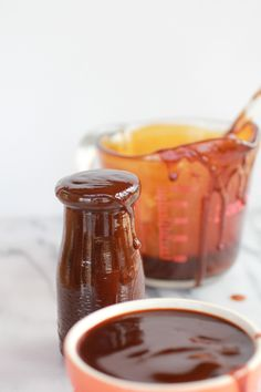 Homemade Barbeque Sauce just like Sweet Baby Ray from: Half Baked Harvest
