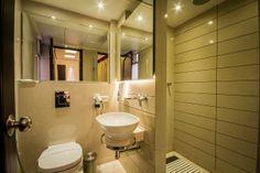 Executive Room Bathroom @Hotel Grand Godwin #delhi hotels with Class Facilities.