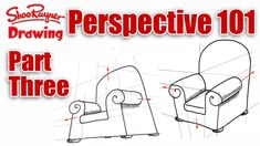 Three point perspective - Perspective 101 part 3 with Shoo Rayner