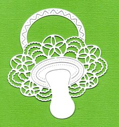 8 Beautiful Tattered Lace Die Cuts - Detailed & Delicate Babies Dummy | eBay