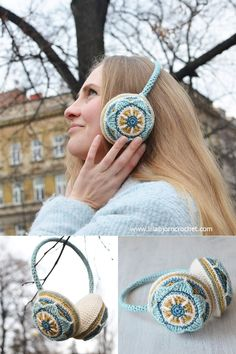A new and FREE pattern for original Floral Ear Muffs is already here!