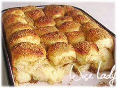 Aranygaluska - Anya főztje Aur, Hamburger, French Toast, Recipies, Dessert Recipes, Sweets, Cookies, Baking, Breakfast