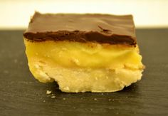 Carrés citron – chocolat