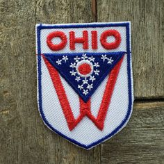 Ohio Vintage Souvenir Travel Patch from Voyager by HeydayRoadTrip