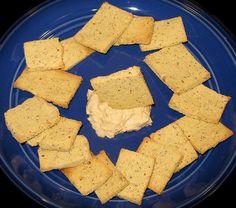 """Tasty Grain-Free """"Cheese"""" Crackers (Dairy-Free, Paelo & Vegan)"""