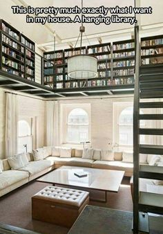 Library balconies in the Great Room