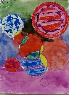 Circles, Circles Everywhere! Different Kinds Of Lines, Circle Painting, Circle Art, Post Impressionism, Arts Ed, Wassily Kandinsky, Art Lesson Plans, Museum Of Modern Art, Art School