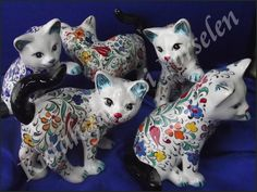 Çini Biblo Kedi