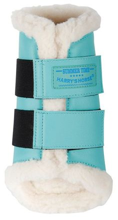 Harrys Horse Protection Boots Flextrainer Turquoise. Check out the whole selection of options by clicking on the link in my bio! @palephant