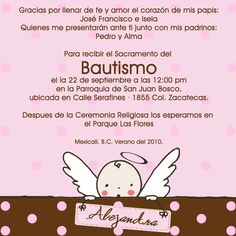 40 Awesome invitaciones angelitos para bautizo gratis images Samara, Party Ideas, Molde, Party, Fete Ideas, Ideas Party