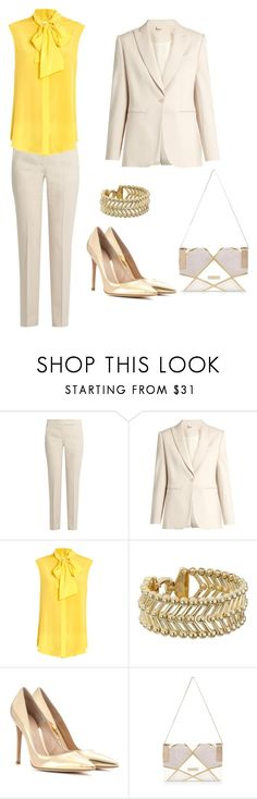 """Untitled #213"" by nicolesorensen ❤ liked on Polyvore featuring MaxMara, Moschino, Giles & Brother, Gianvito Rossi and River Island"