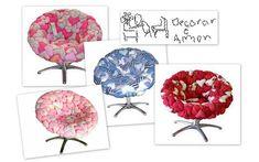 Hippy chic.. Fika a Dika - Por um Mundo Melhor: Poltronas, Sofás e Cadeiras/Modelos..